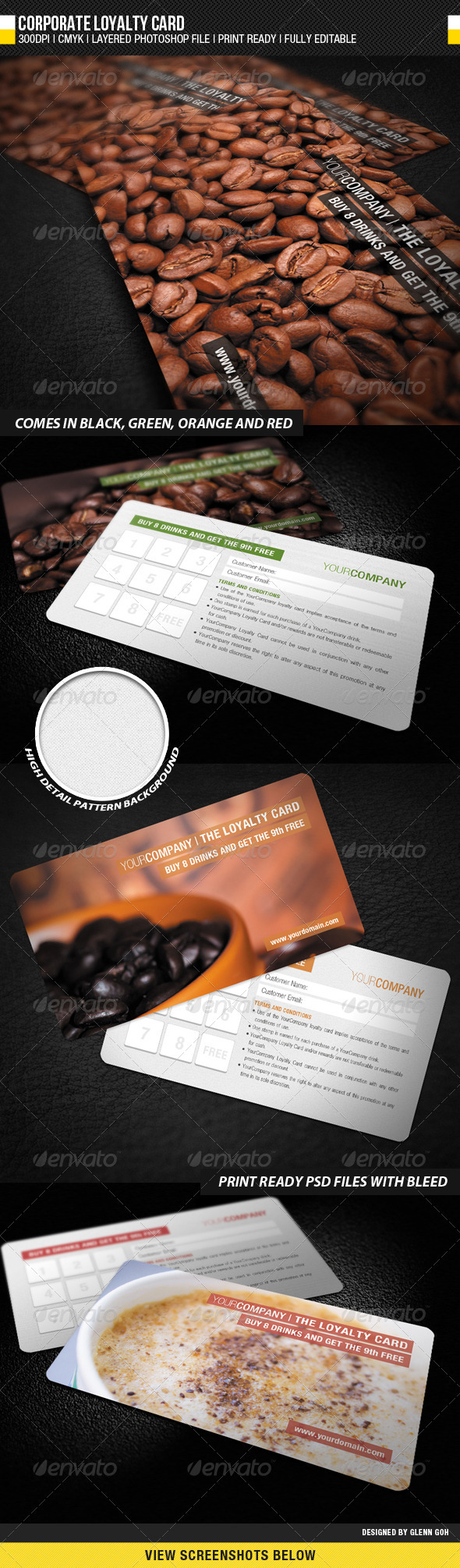 Corporate Loyalty Card - Loyalty Cards Cards & Invites