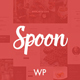 Spoon – a Premium Responsive Restaurant WordPress Theme Nulled