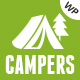 Campers - Camp Ground, Caravan & Adventure WordPress Theme Nulled