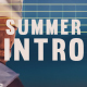 Summer Intro - VideoHive Item for Sale