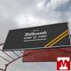 Realistic Billboards Across Street Mockups