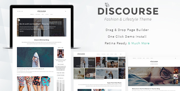 Discourse – Magazine & Blogging Theme
