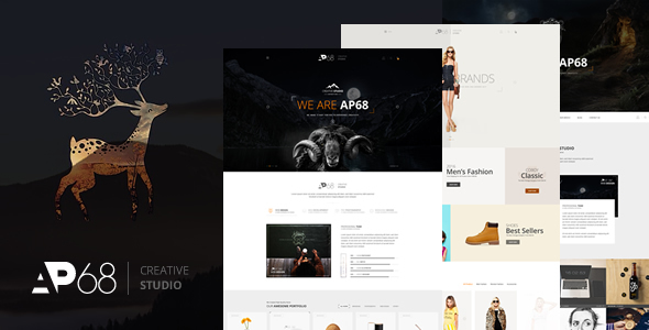 AP68 – Creative PSD Template