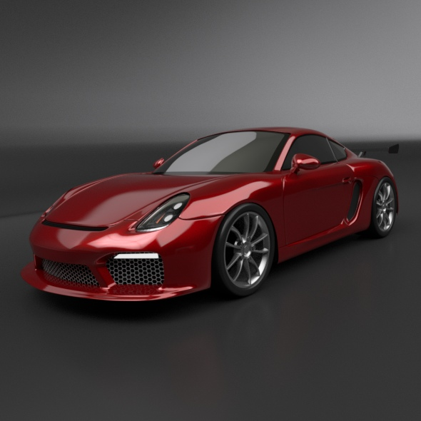 Porsche Cayman 2015 redesigned - 3DOcean Item for Sale