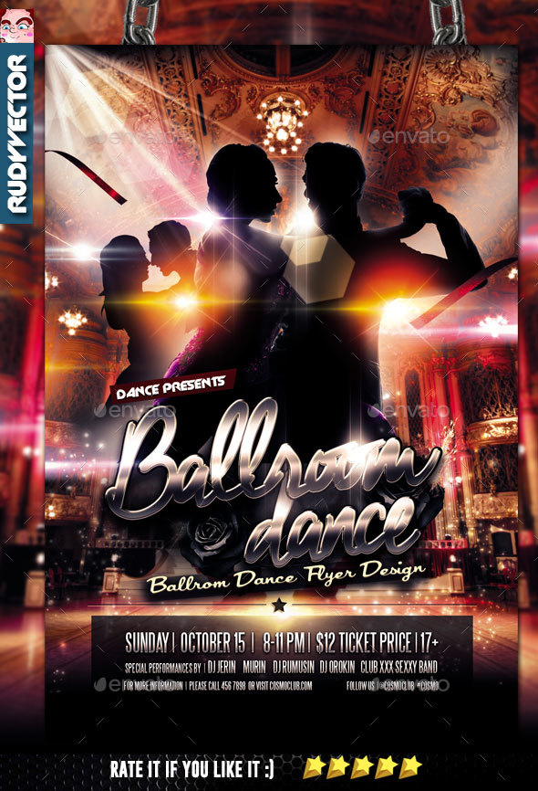 Classic Dance Graphics Designs Templates From GraphicRiver