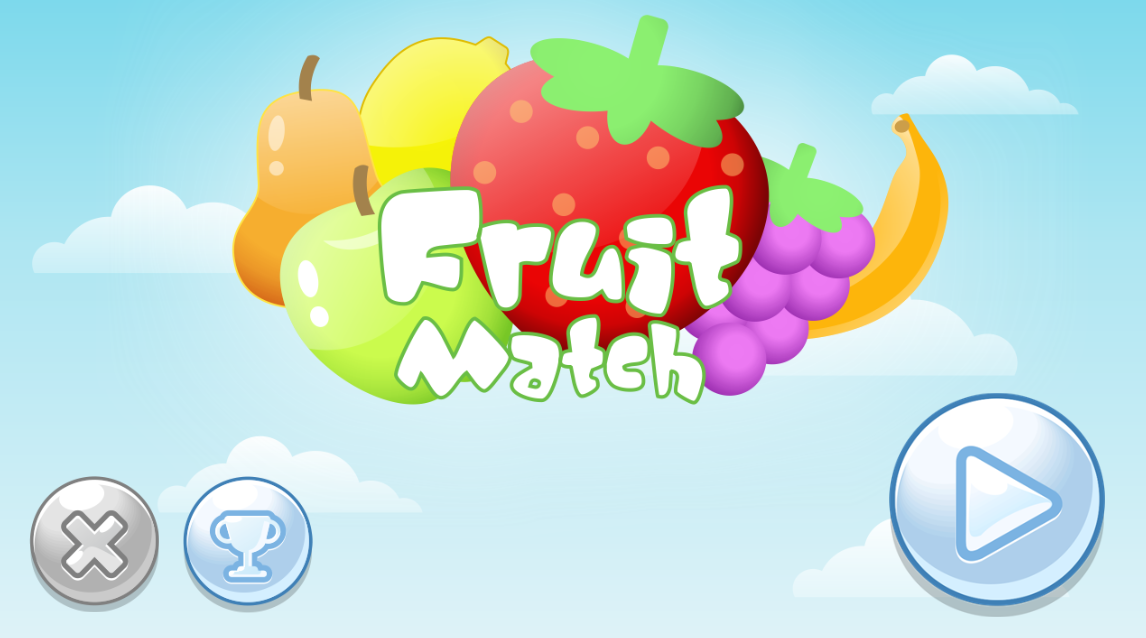 Fruit Match - HTML5 Mobile and Desktop Game by redfoc | CodeCanyon
