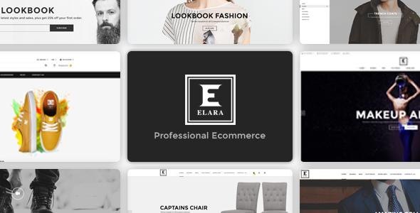 Elara - Responsive Multipurpose  WooCommerce Theme