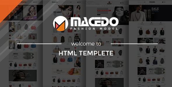 Macedo – eCommerce Fashion Template