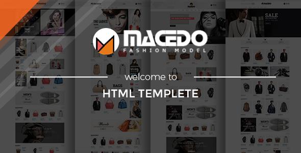Macedo - eCommerce Fashion Template - Fashion Retail