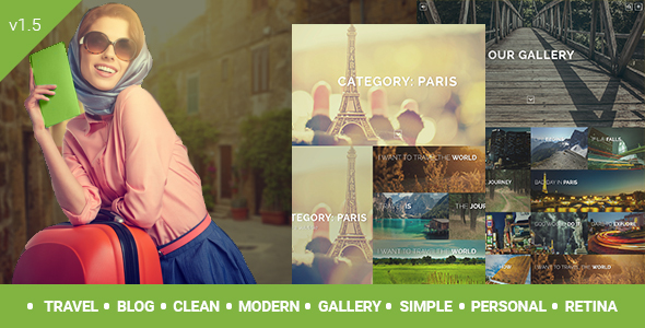 Travelogue - Travel Blog WordPress Theme - Creative WordPress