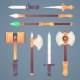 Medieval Fantasy Weapons Pack - GraphicRiver Item for Sale