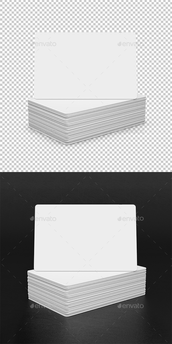 Business Cards - Objects 3D Renders