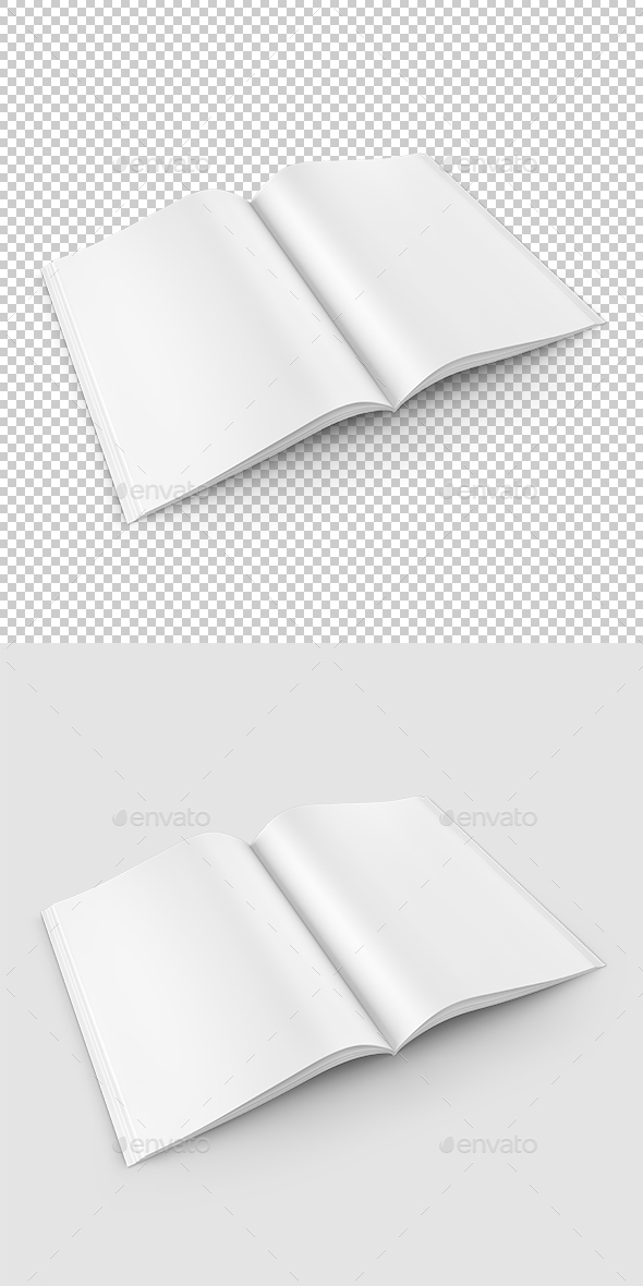 Open Book - Objects 3D Renders