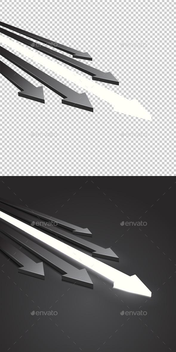 Arrow 3D - Concepts Business