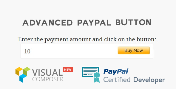 Advanced PayPal Button - CodeCanyon Item for Sale