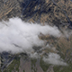Clouds Flying Between Mountains - VideoHive Item for Sale