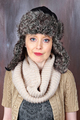Winter hat girl - PhotoDune Item for Sale