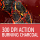 Burning Charcoal - Photoshop Action - GraphicRiver Item for Sale