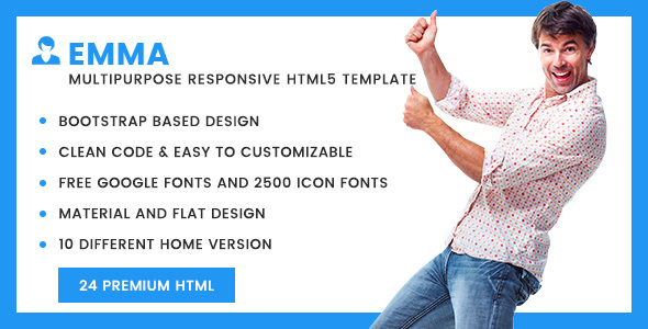 Emma - Multipurpose Responsive HTML5 Template