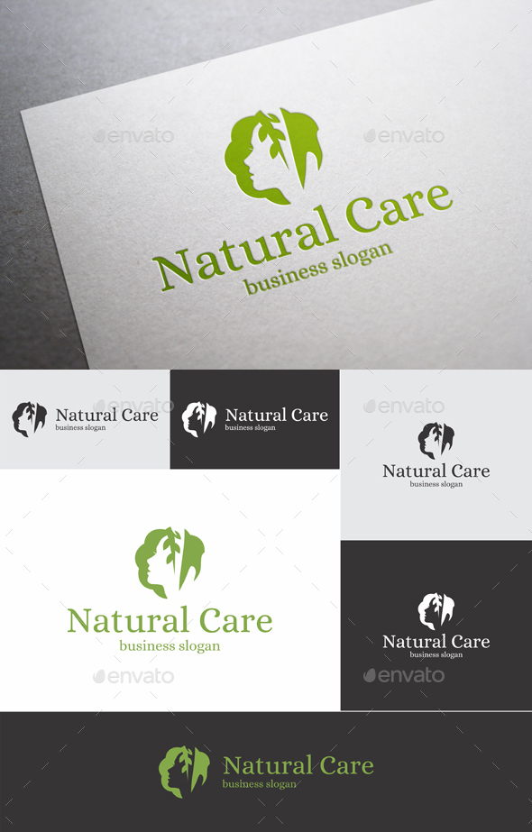 Natural Care Logo - Humans Logo Templates