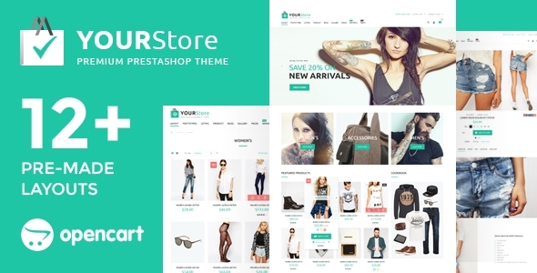 YourStore – OpenCart theme