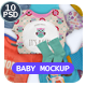 All Baby Apparel Mockup - GraphicRiver Item for Sale