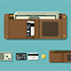 Wallet with Money - GraphicRiver Item for Sale