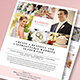 Simple Wedding Planner Flyer - GraphicRiver Item for Sale