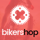 Biker Shop - premium PSD template Nulled