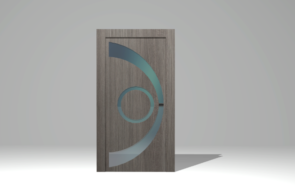 Door modern - 3DOcean Item for Sale