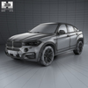 Bmw x6 (mk2) (f16) m sport package 2014 590 0003.  thumbnail
