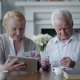Happy Lovely Retired Couple Use Tablet Computer - VideoHive Item for Sale
