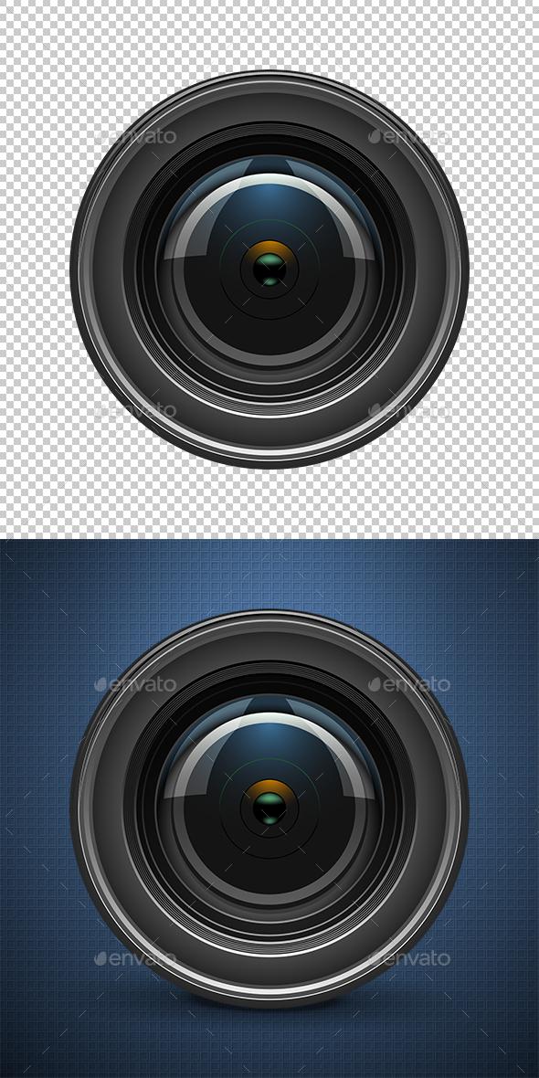 Camera Lens - Miscellaneous Conceptual