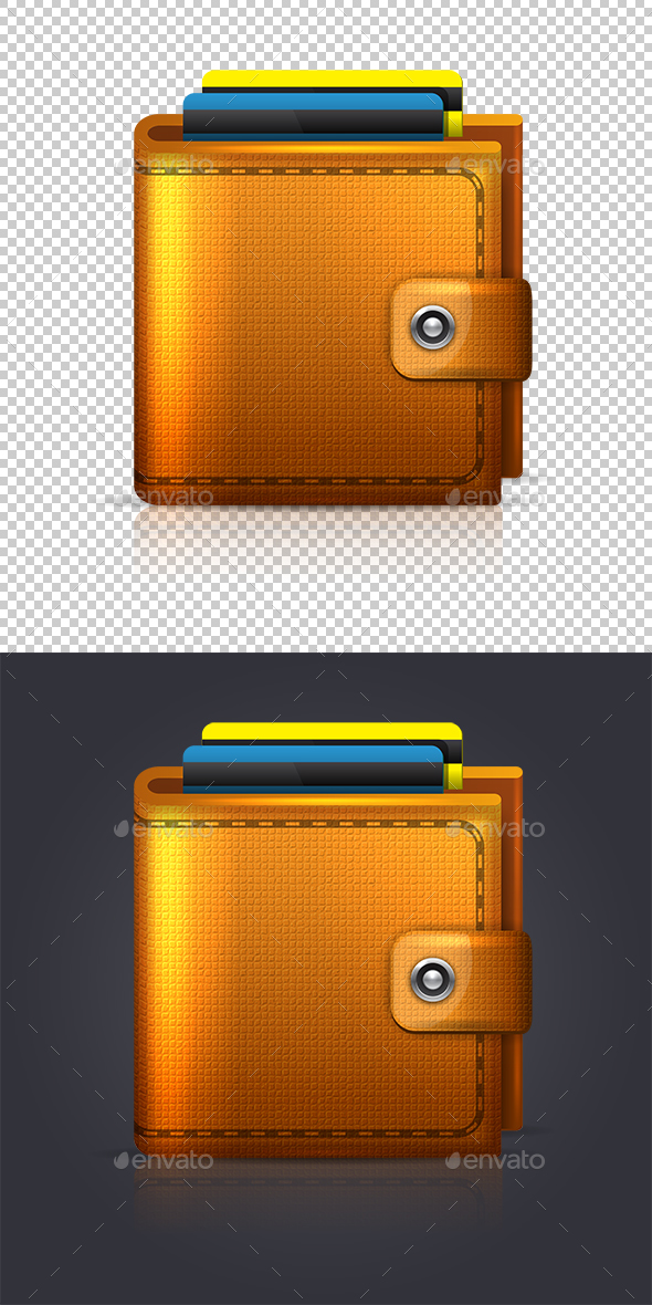 Wallet - Business Icons