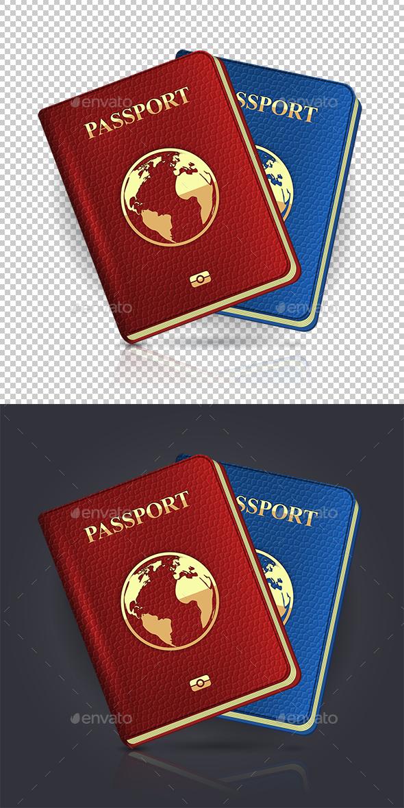 Passport - Business Icons