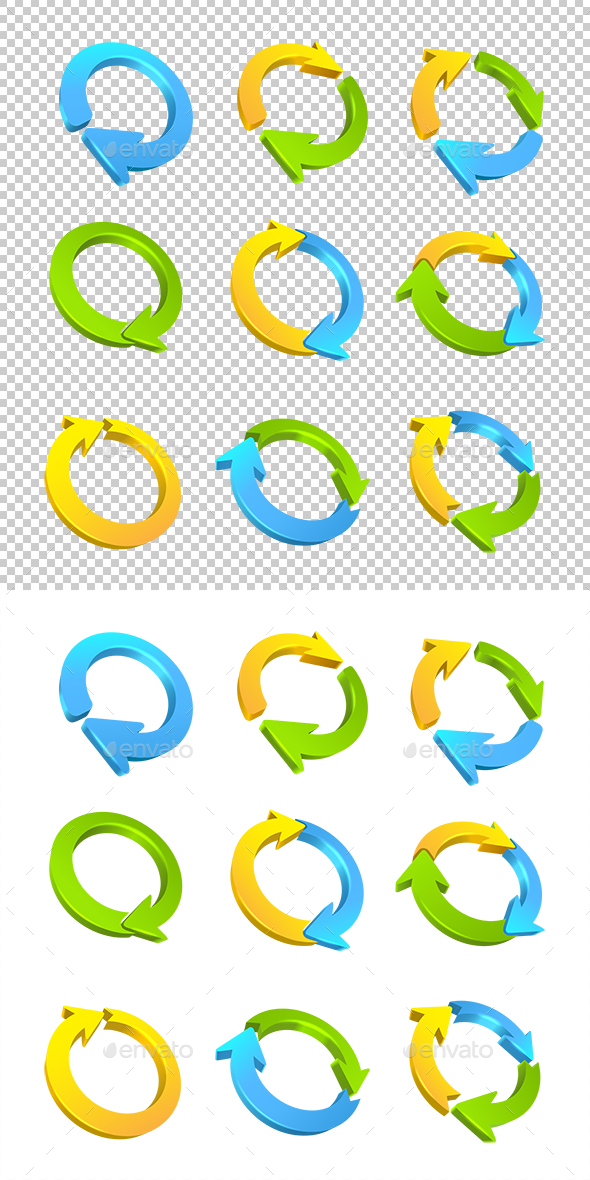 Arrow Circles - Miscellaneous Conceptual