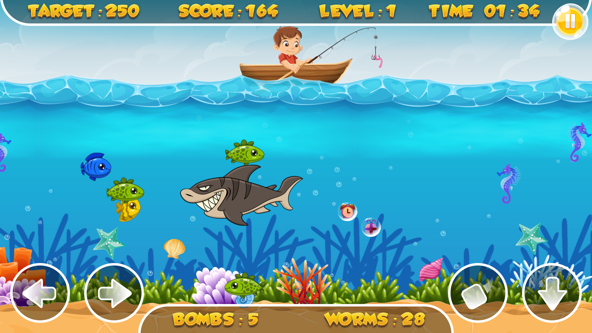 Fishing frenzy html5 game mobile version admob for Fish frenzy game