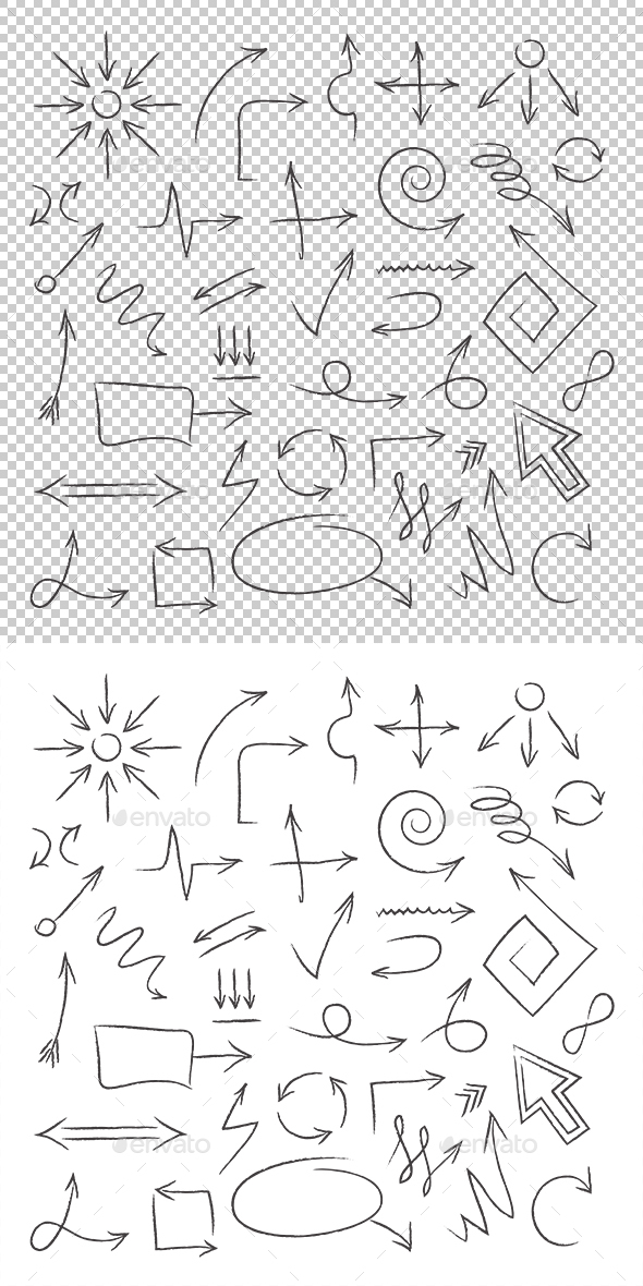 Arrows - Decorative Symbols Decorative