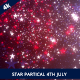Star Partical July 4th Patriotic Backgrounds - VideoHive Item for Sale