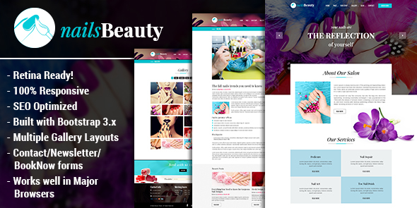 NailsBeauty – Nail, Spa and Beauty HTML Template