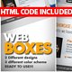 Great Web boxes - GraphicRiver Item for Sale
