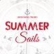 Summer Sail Flyer Template - GraphicRiver Item for Sale