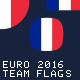 Euro Cup 2016 Football Team Flags Icons - GraphicRiver Item for Sale