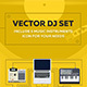 DJ Equipment Vector Scene - GraphicRiver Item for Sale