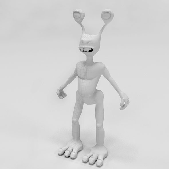 3d alien - 3DOcean Item for Sale