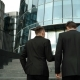 Two Businessmen Climb The Stairs - VideoHive Item for Sale