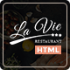 Bootstrap 3 HTML Template for Restaurants & Coffee Shop - Lavie - ThemeForest Item for Sale