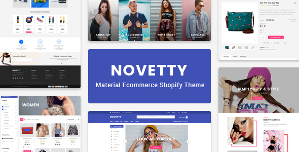 Novetty – Responsive Shopify Theme