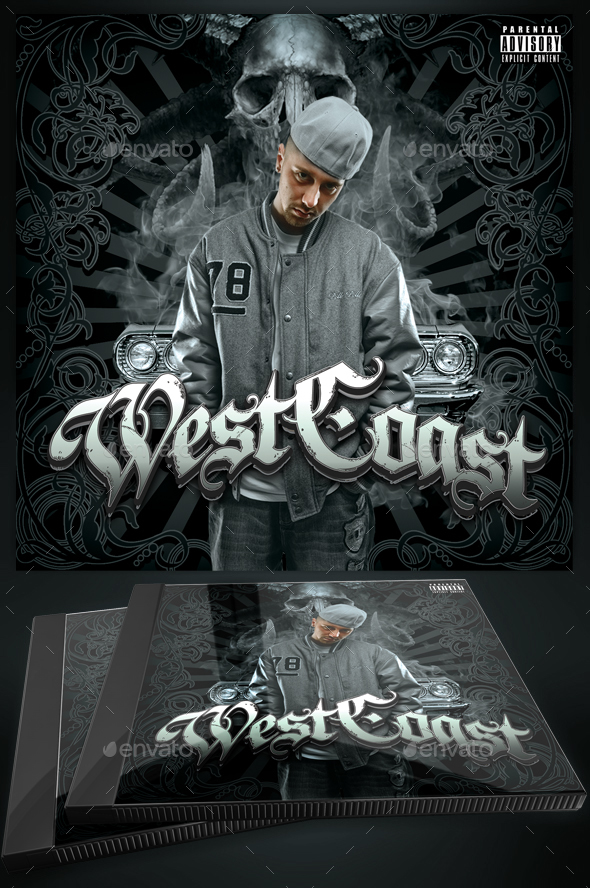 Mixtape / CD Cover Template - Westcoast by Yellow_Emperor ...