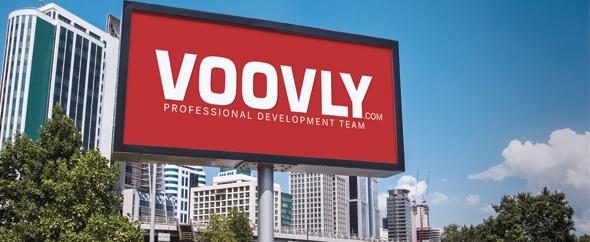 Logo header voovly